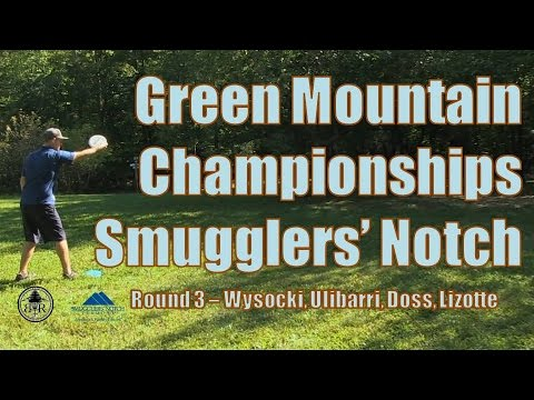 The Disc Golf Guy - Vlog #341 - Green Mountain Chmps - Rnd 3 - Wysocki, Ulibarri, Lizotte, Doss