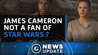 Avatar Director James Cameron Wasn't a Big Fan of Star Wars 7 - GS News Update