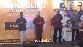 Nur Kasih Hafizhamidun Inteam Fitri Haris live At Bling Bling Festival Tour 2019 17 05 19