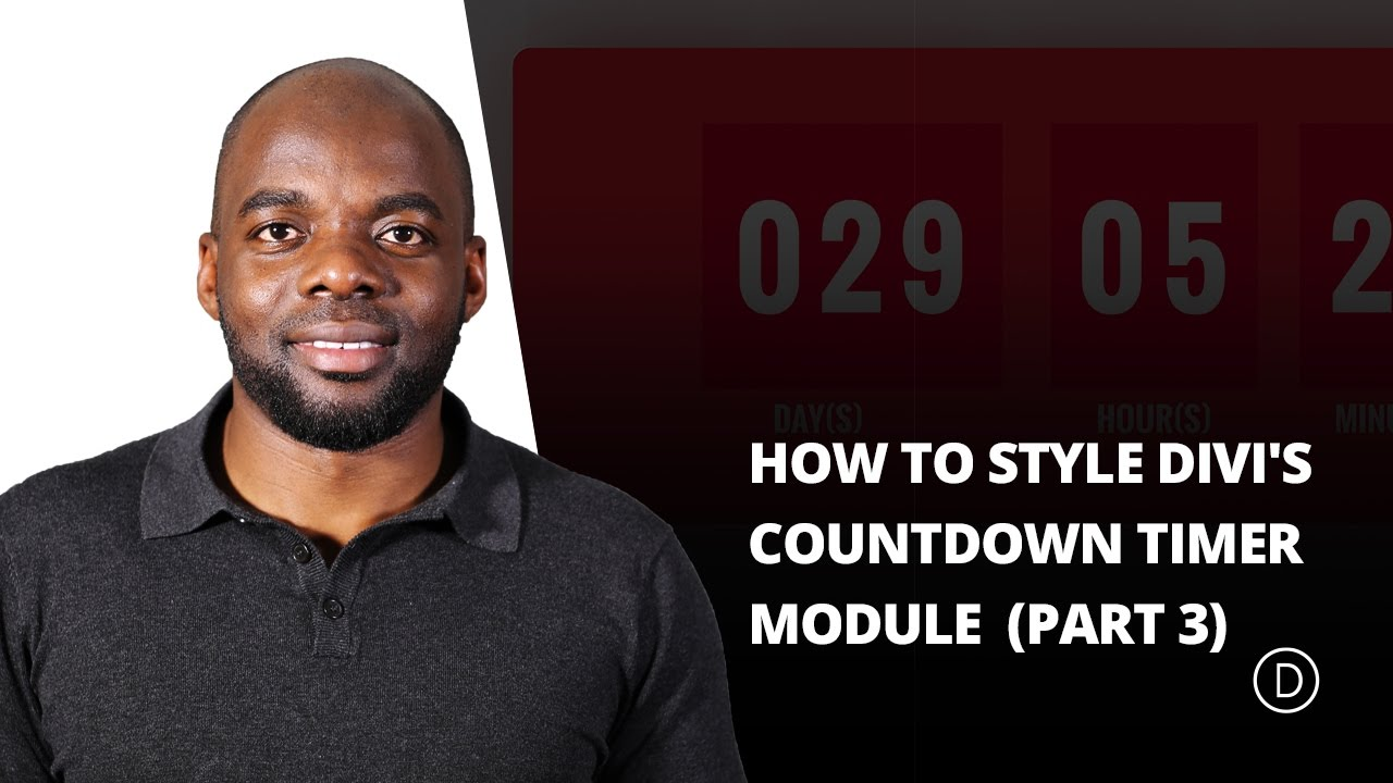 How to Create a Bold (Yet Elegant) Colorful Countdown Timer Module With Divi