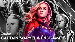 How Captain Marvel links With Endgame! | SuperSuper