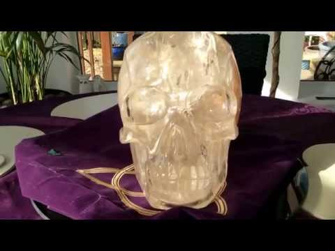 Master Citrine Cathedral Skull 18 kgs of intense energy .