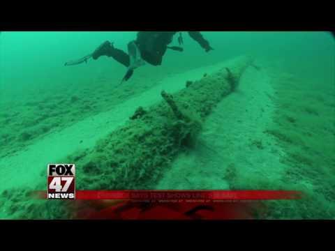 Pipeline beneath Straits of Mackinac passes pressure tests