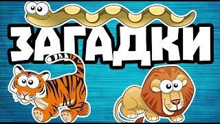 загадки для детей про животных и зверей. Слушать загадки с картинками онлайн. Есть и отгадки!