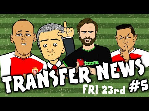 TRANSFER NEWS #5! (Sanchez to leave? Fabinho to Man Utd? Cuadrado to Barca? Bonucci to Chelsea?)