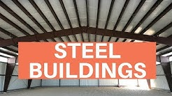 Steel Buildings - Prefab Metal Building Kits, Construction, & Low Cost Prices