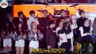 방탄소년단 BTS reaction  - HIPHOP Stage 무대 리액션 직캠 Fancam 2016 가요대전 by AMLive KPOP