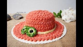 Geburtstagtorte dekorieren Ideen - cách trang trí bánh kem hình cái nón