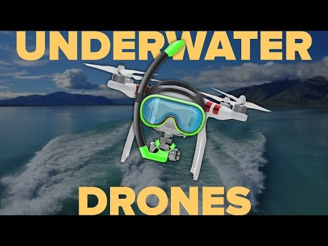 5 Awesome Underwater Drones
