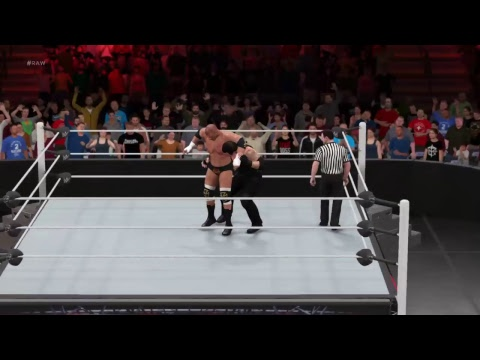 My WWE 2K17 Universe: WWE RAW (February.Week 4)