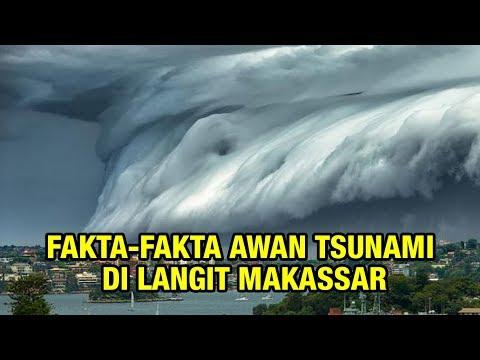 Fakta-fakta Awan Tsunami di Langit Makassar, Bahaya untuk Pesawat Hingga Lama Efeknya, Pertanda Apa?
