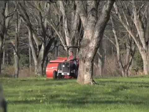 Pecan Harvester Helps Neglected Orchards