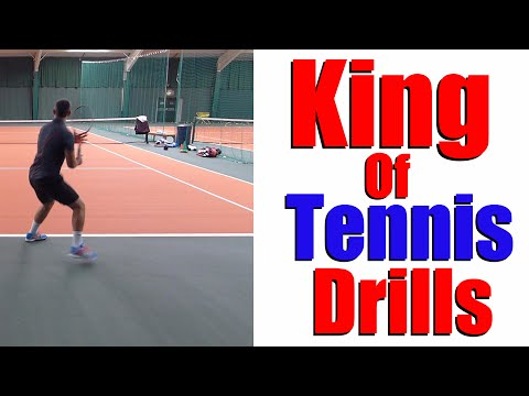 Best Tennis Drill in Tennis | Free Tennis Lessons ✔