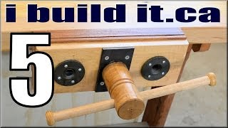 Making A Woodworking Vise, Part 5 Of 10