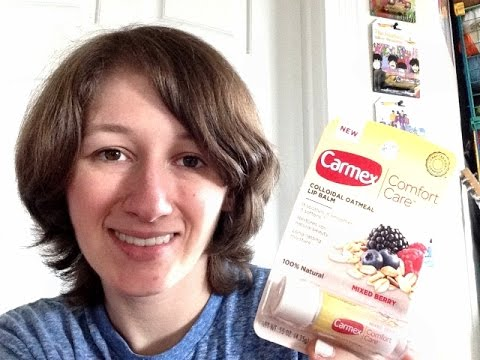 Review - Carmex Comfort Care Mixed Berry Lip Balm