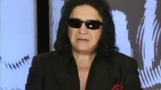 KISS: Gene Simmons tells Obama he has no F_cking Idea about Israel.