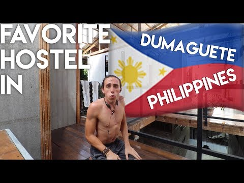 My Favorite Hostel in Dumaguete - Philippines Travel Vlog Ep 15