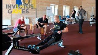 Ігри Нескорених. Занятия на тренажерах. Второй тренировочный сбор команды Украины