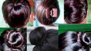 #hairstyle#bun Juda hairstyle in any 👗 dress