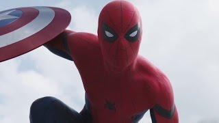 "Spider-man ""Hey everyone"" scene - Captain America - Civil War (2016)"
