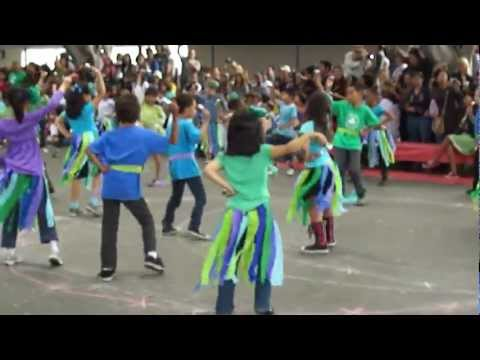Clover elementary school dancing party --- Mas Que Nada