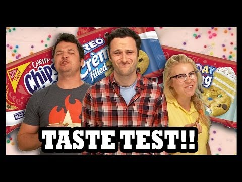 Chips Ahoy Taste Test! (Now With Extra Diabetes!) - Food Feeder