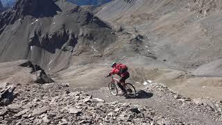 Mont Bonvin 2995mt MTB - Crans Montana route Glacier de la Plaine Morte