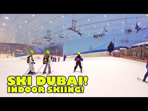 Ski Dubai! Indoor Skiing and Snowboarding UAE United Arab Emirates