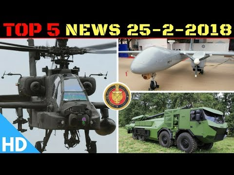 Indian Defence Updates : India Buys 6 More Apaches,Rustom-2 New Engine Test,2000 ATAGS Order