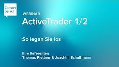 ActiveTrader 1/2