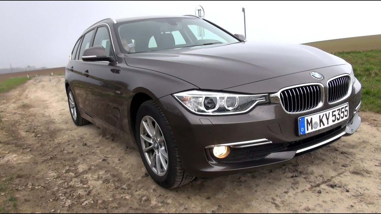 2015 bmw 320d xdrive (184 hp) touring test drive - youtube