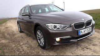 2015 BMW 320d xDrive (184 HP) Touring Test Drive