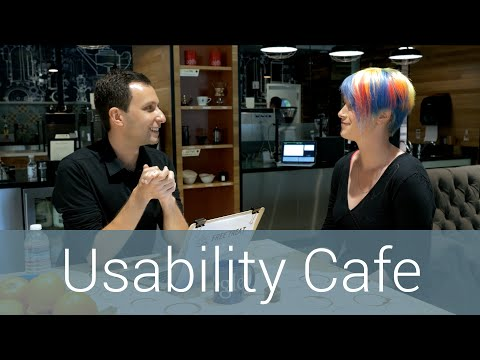 Guerilla Testing with Usability Cafe