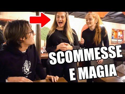 SCOMMESSE TRA MAGHI (riesci a stupirla?) / Vlog Blackpool 1