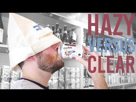 BLIND TASTE TEST: hazy vs clear IPAs | The Craft Beer Channel