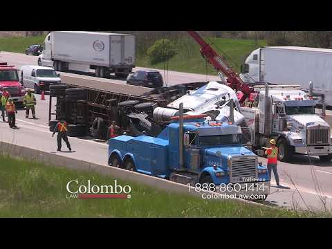 Injured In a Truck Accident? Call Colombo Law