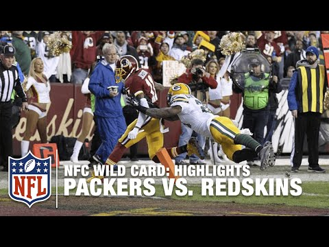 Packers vs. Redskins | NFC Wild Card Highlights | NFL