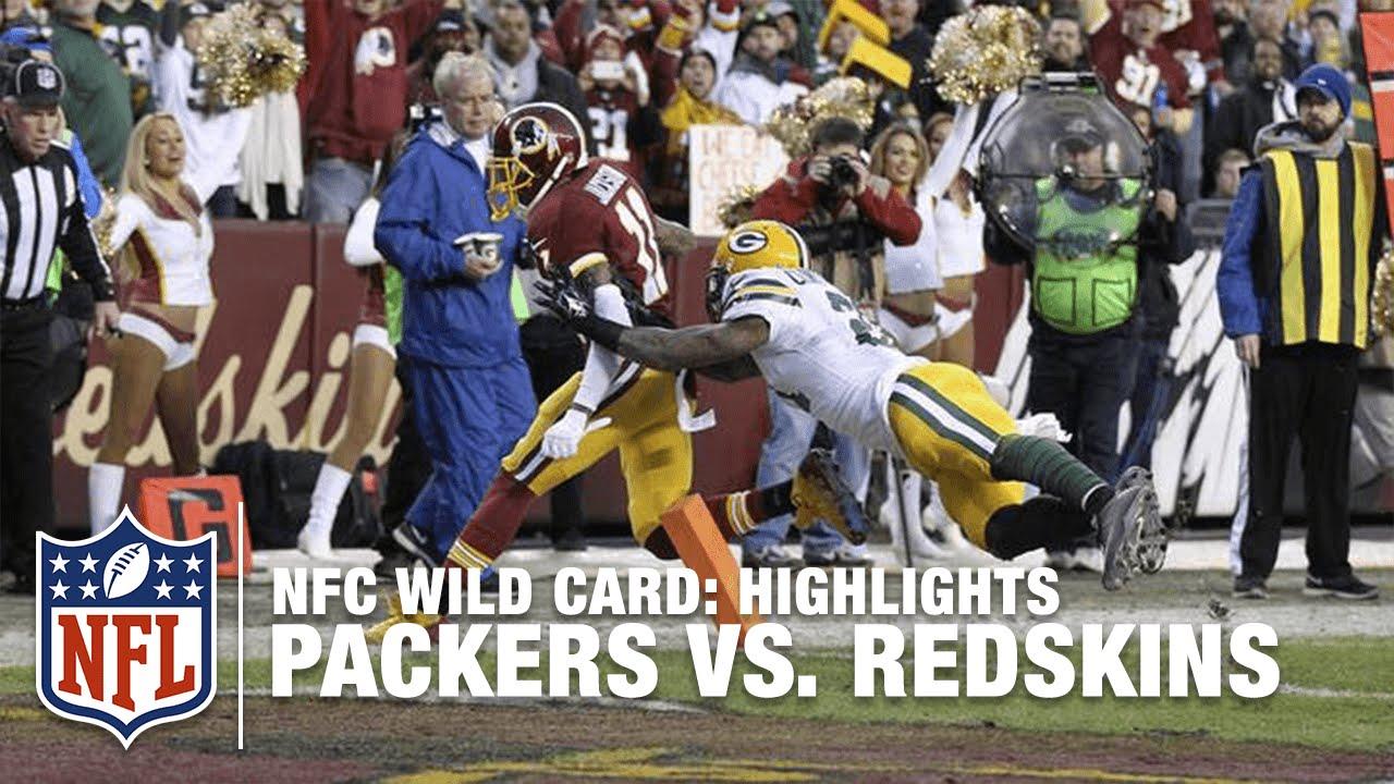 Packers vs. Redskins  a32fb0b92