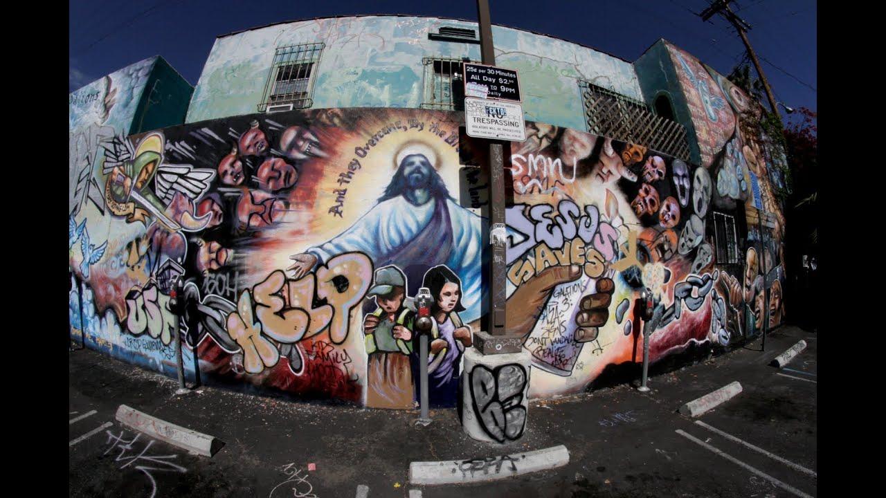 City Wall Murals Cultura Chicana Youtube