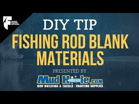 DIY TIP: Understanding Fishing Rod Blank Materials