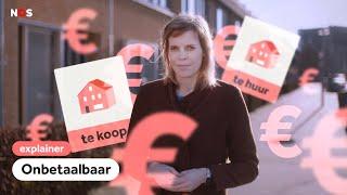 Waarom jij geen huis kan kopen