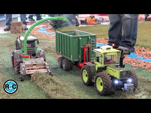 RC Tractor at work - Thanks for 50k subscribers!!!