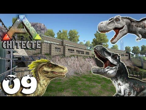ARKCHITECTE 09 - Nouveaux Pensionnaires + Invasion Enclos Tyrannosaure - royleviking [FR HD PC]