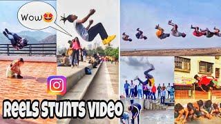 Viral Instagram Reels Flips Video's | Reels new video's 🔥🤩