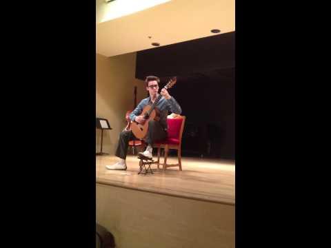 Grand Sonata for Guitar and Violin II: Romance (Paganini) - solo guitar
