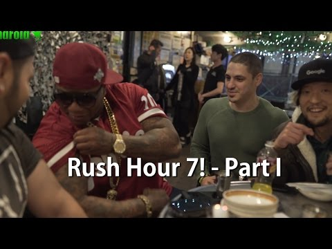 Rush Hour 7 in NYC w/ Mayor of NYC! [Part 1]