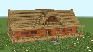 MINECRAFT: How to build 2-room wooden house #2