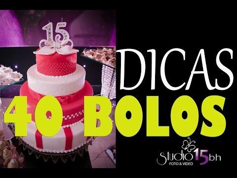 40 BOLOS LINDOS para Festa 15 ANOS