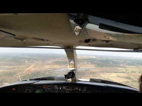 Landing a Citation 1 in Maracaibo, La Chinita International Airport, Venezuela