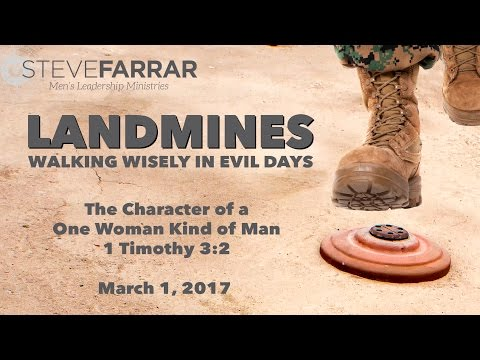 The Character of a One-Woman Kind of Man   3-1-17